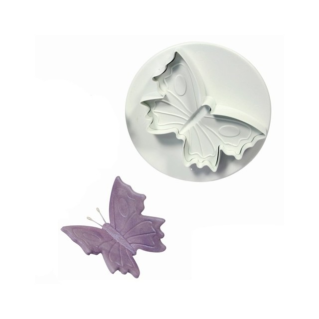 Grand emporte-piece ejecteur papillon