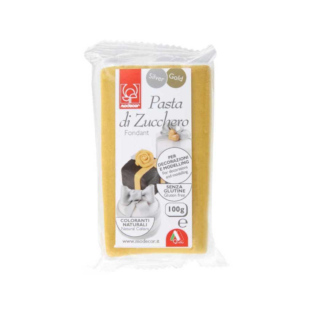 Pate à sucre Or Modecor 100 gr
