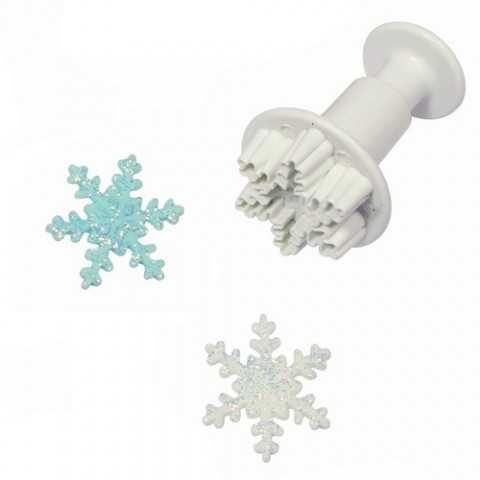 Emporte-pièce flocon de neige - taille medium