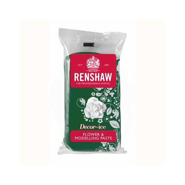 Renshaw - Gumpaste vert feuille 250 gr