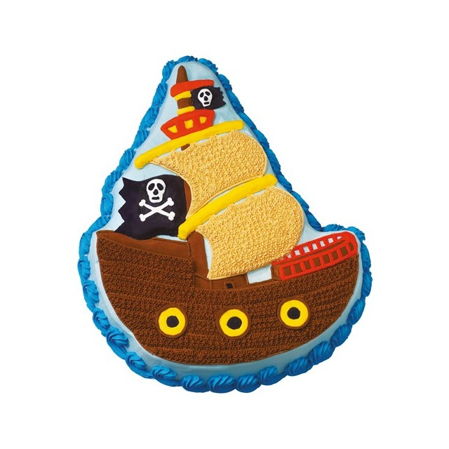 Wilton - Moule à gateau pirate