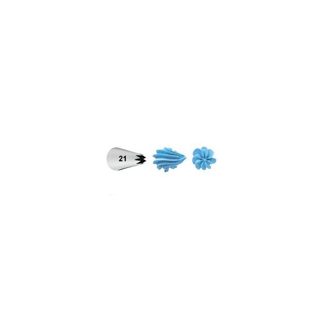 Wilton - Douille patisserie étoile n°021