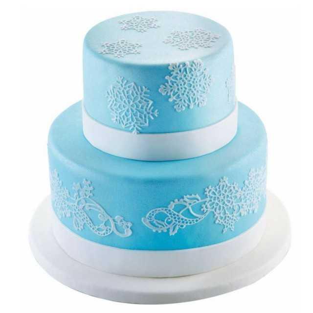 Moule sucre dentelle flocon de neige  - TRD18