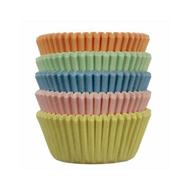 PME - 100 mini caissettes cupcakes pastel
