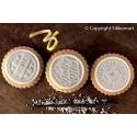 Silikomart - Kit biscuit rond tablette chocolat - Dolce Vita