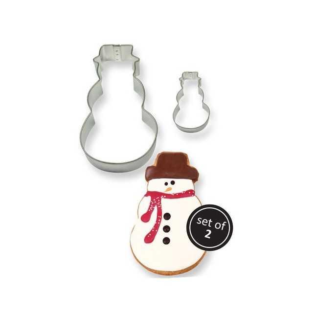 PME - 2 emporte-pièces bonhomme de neige