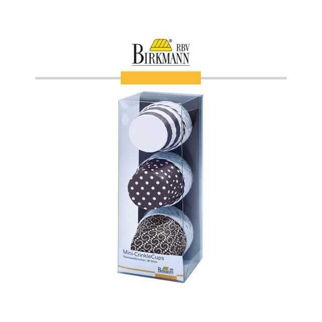 CrinkleCups - 36 mini caissettes muffins cupcakes - chocolat