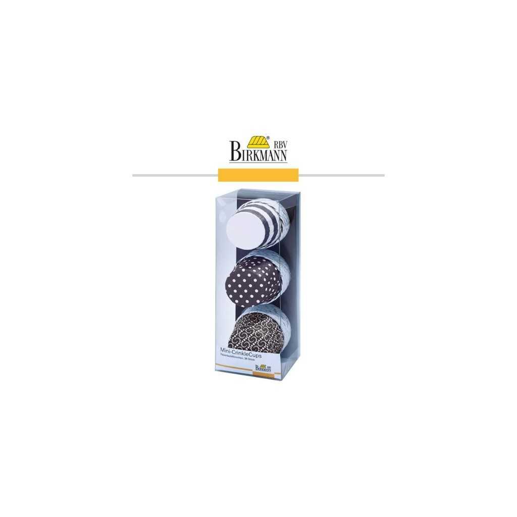 CrinkleCups - Mini caissettes muffins cupcakes - chocolat