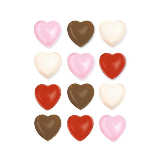 PME - Moule à chocolat coeurs