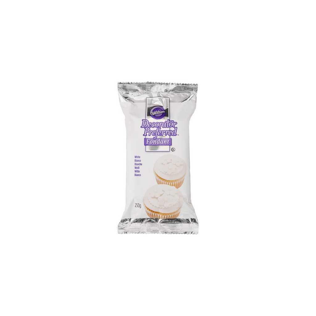 Wilton - Pate à sucre blanche 250 gr