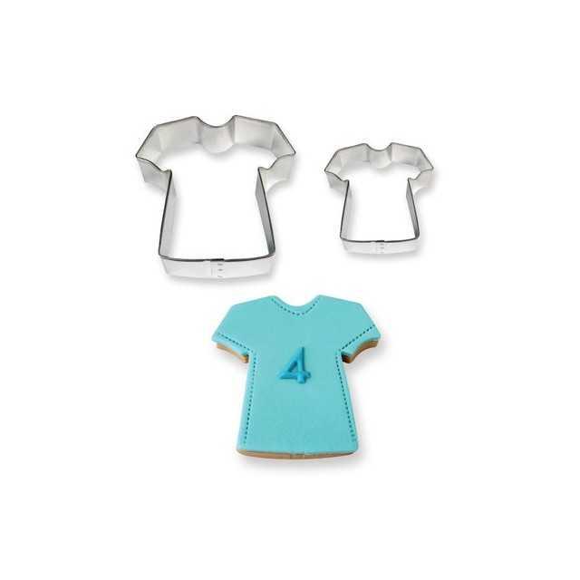 2 Emporte-pièces T-shirt métal