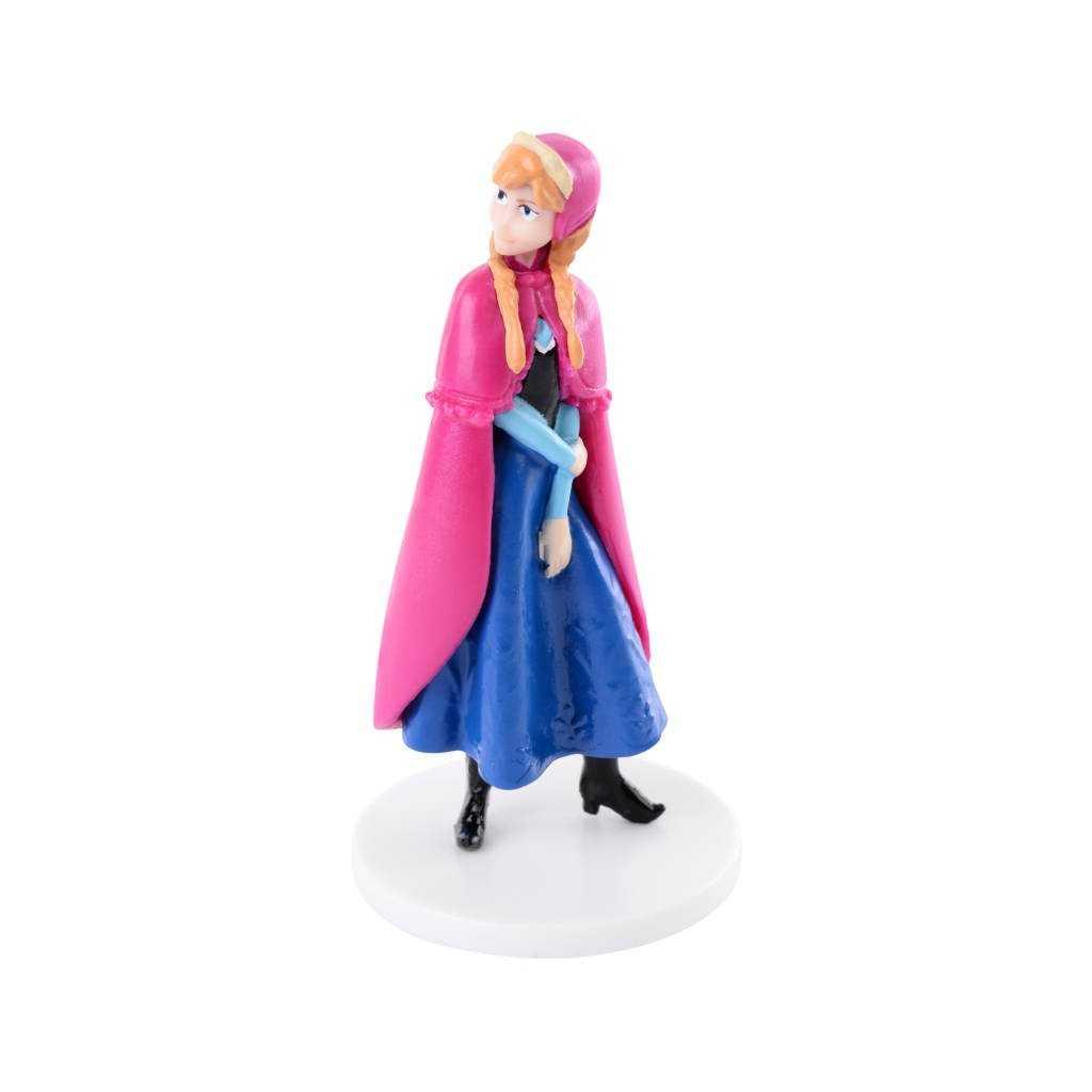 Petite bougie Reine des Neiges Elsa 2D - H4cm