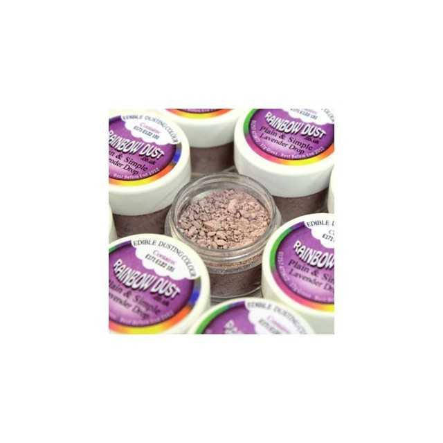 Colorant alimentaire poudre Lavender Drop Plain & Simple Purple