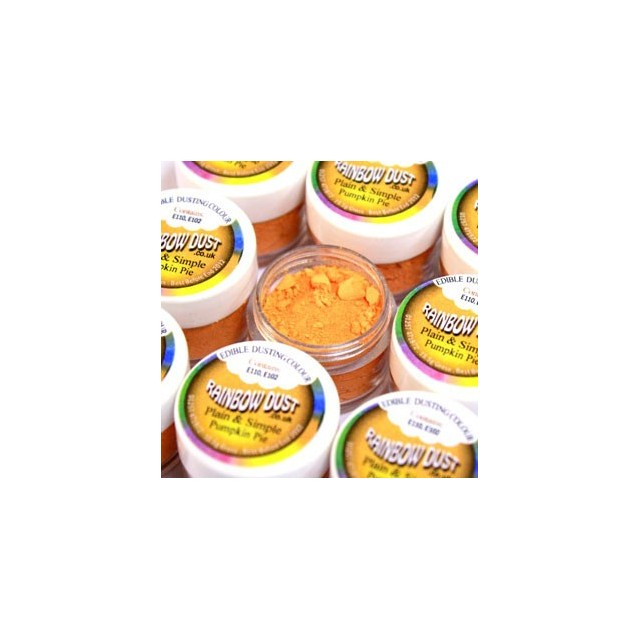 Colorant alimentaire poudre Pumpkin Pie Plain & Simple Orange