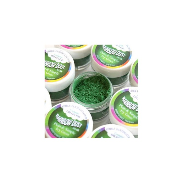 Colorant alimentaire poudre Ivy Green Plain & Simple Green