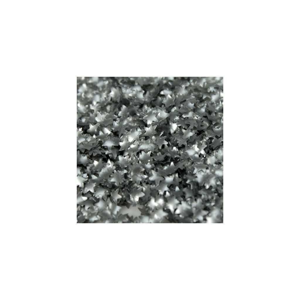 Paillettes étoiles argentées Rainbow Dust