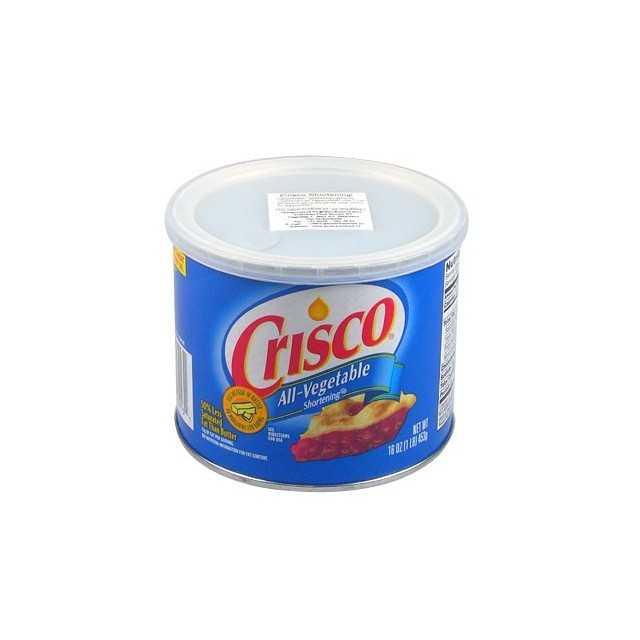 Graisse végétale CRISCO Shortening 450 gr