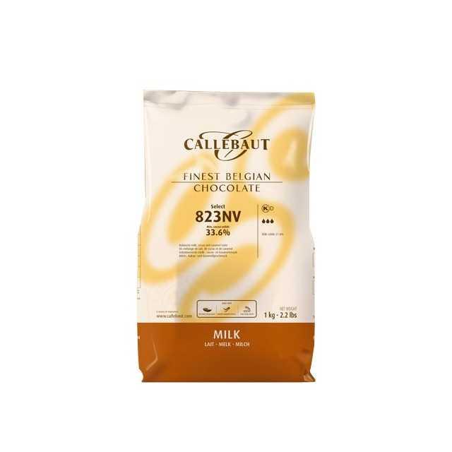 Galets de chocolat au lait Callebaut 1kg
