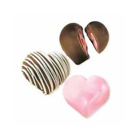 Moule à chocolat coeurs truffe