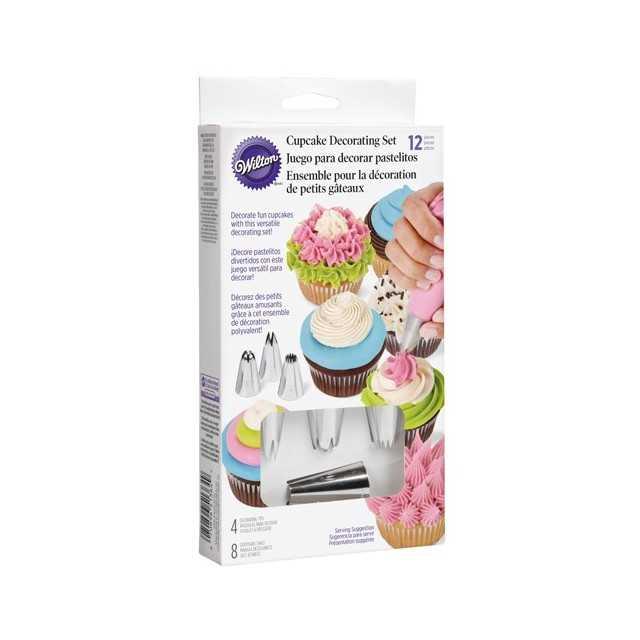 Kit spécial décoration de cupcake Facile Wilton