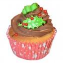 36 Caissettes Cupcake étoiles rouge Squires Kitchen