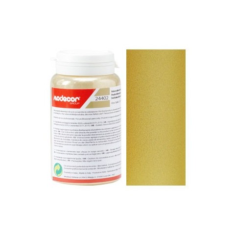 Colorant alimentaire perle poudre surface or 25 gr