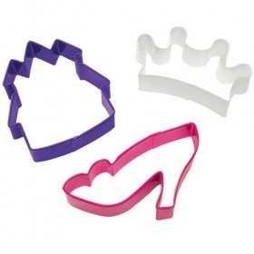 3 emporte pièces Princesse