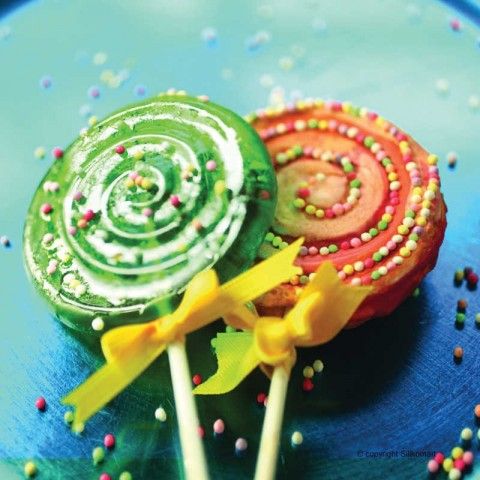 Moule sucette à cake pops ou sucettes en silicone Wonder Cakes