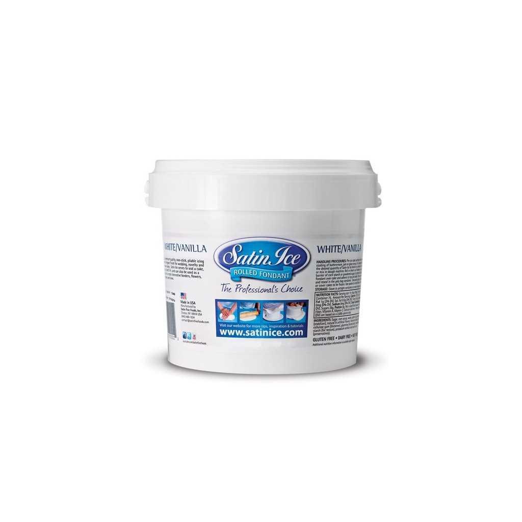 Pate à sucre blanc Satin Ice 1 kg