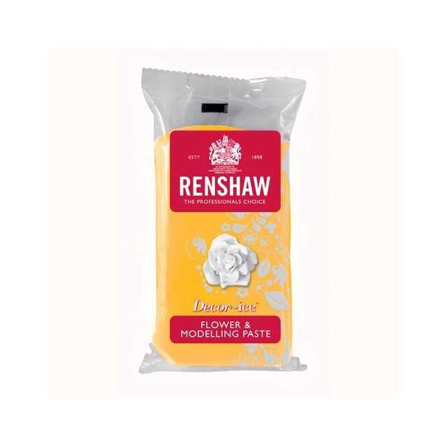 Renshaw - Gumpaste jaune 250 gr
