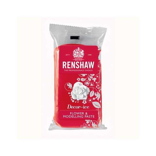 Pâte à modeler gumpaste Rouge RENSHAW 250g