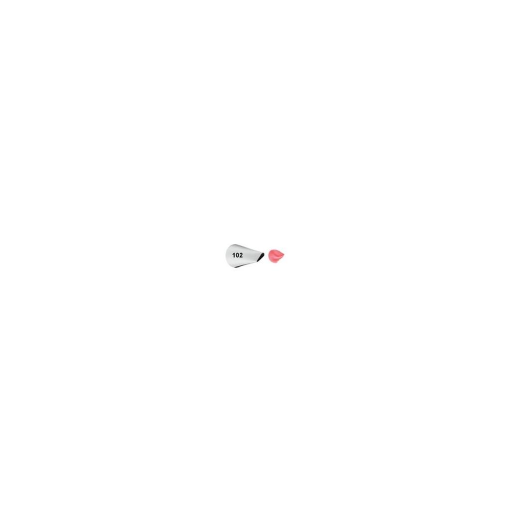 Douille de décoration pétal ou volants 102 Wilton