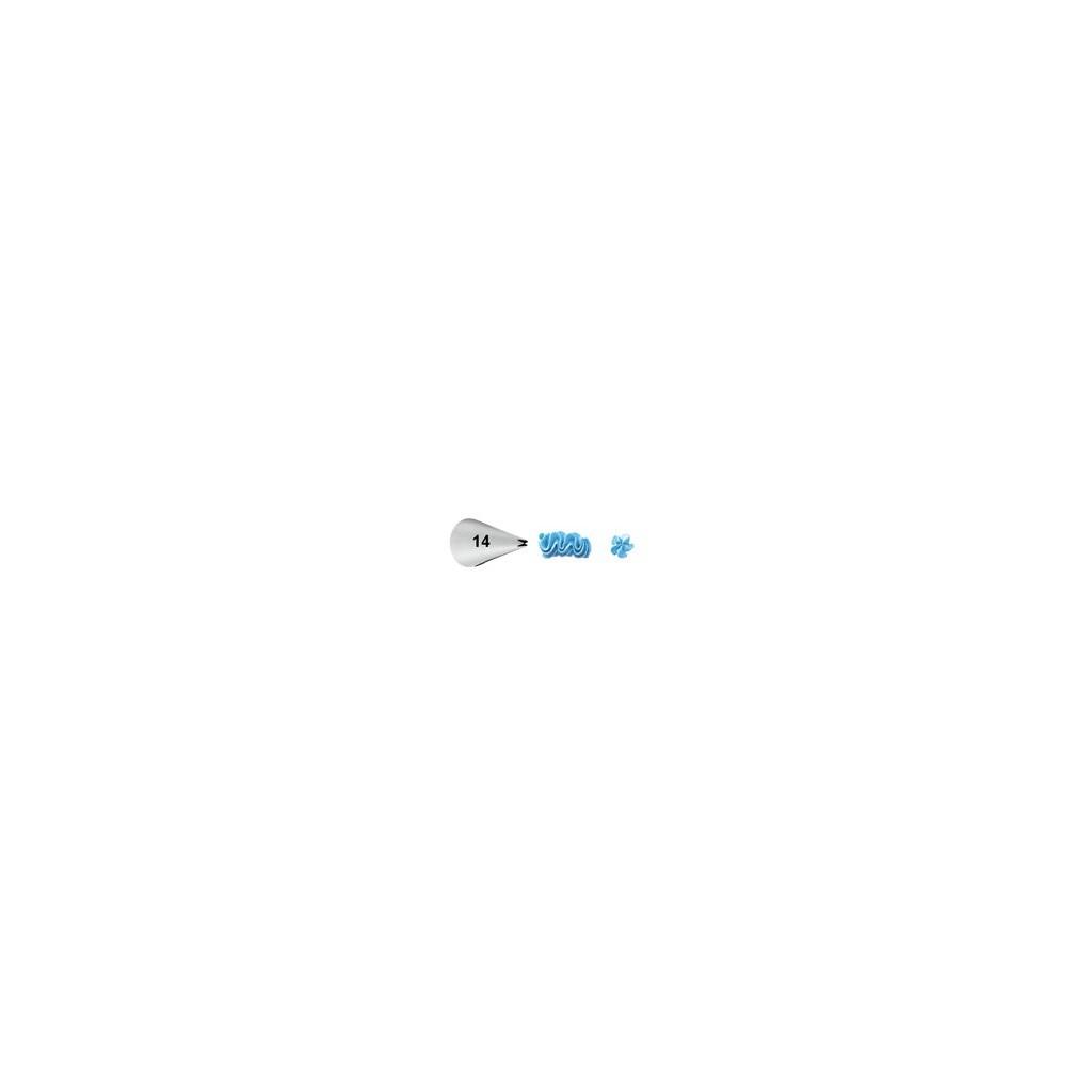 Douille déco petite étoile 014 Wilton