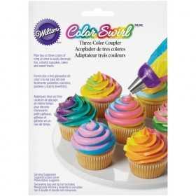 Wilton - Adaptateur Color Swirl pour glacage 3 couleurs
