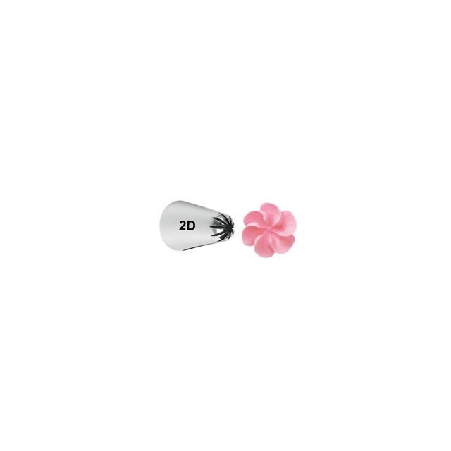 Douille de décoration fleur 2D Wilton