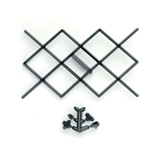 Emporte-piece effet matelassé patchwork cutter