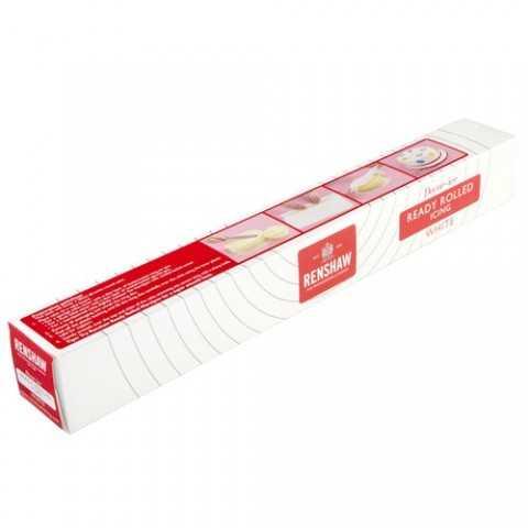 Renshaw - Pate à sucre blanche pre-étalée prete a l emploi