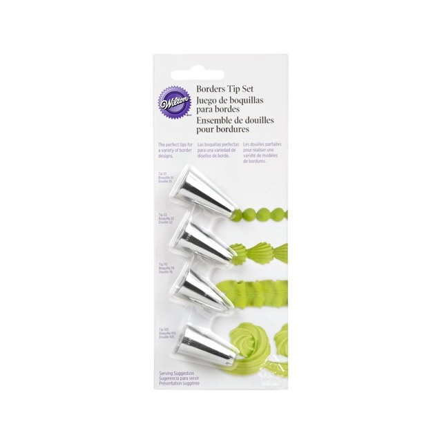 Kit 4 douilles bordures Wilton
