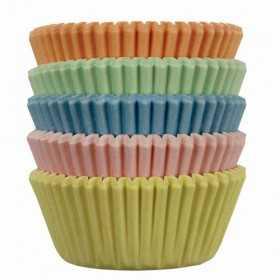 PME - 100 mini caissettes Pastel