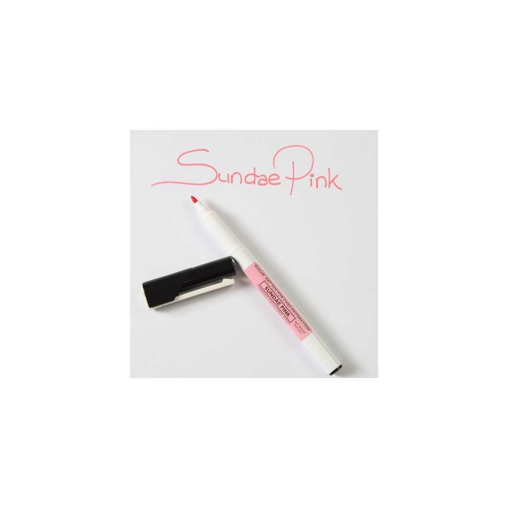 Sugarflair - Feutre alimentaire rose - Sundae pink