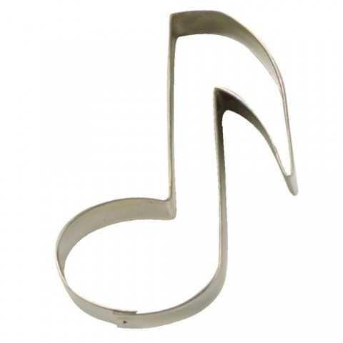 Emporte-piece note de musique - 7 cm