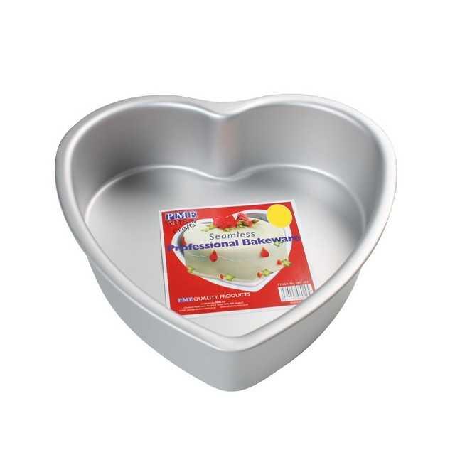 PME - Grand moule à gateau cœur - 35 x 7.5 cm