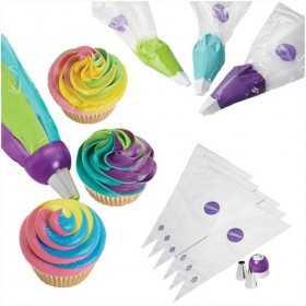 Wilton - kit glacage Color Swirl complet - 9 pièces