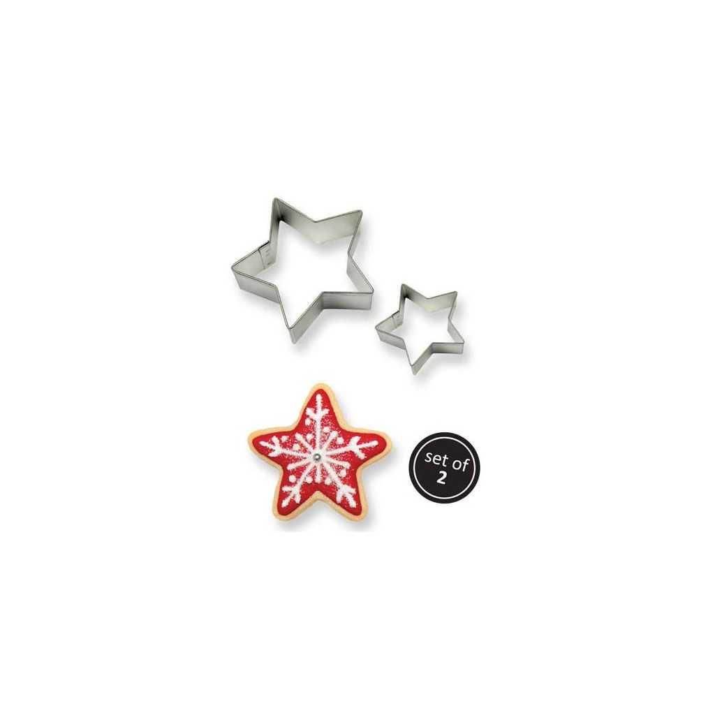 PME - 2 emporte-pièces étoile