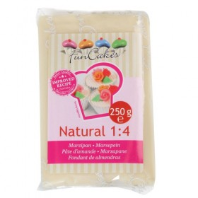 Funcakes - Pate d'amande écru naturel 1:4 - 250 gr