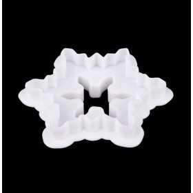 Modecor - 2 Emporte-pieces flocon et sapin double face