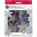 Wilton - 7 emporte-pièces flocon de neige