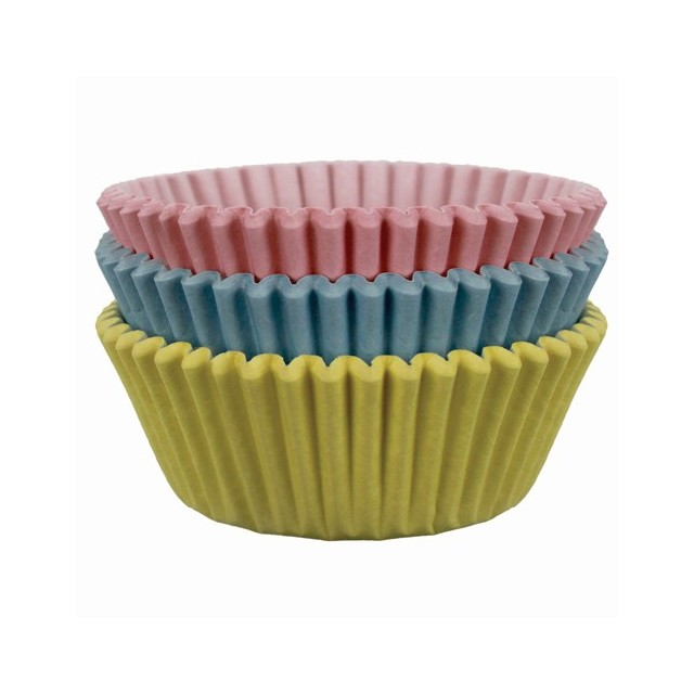 60 caissettes cupcake pastel PME