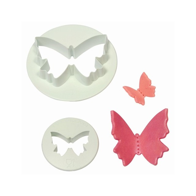 2 emporte pieces papillon PME