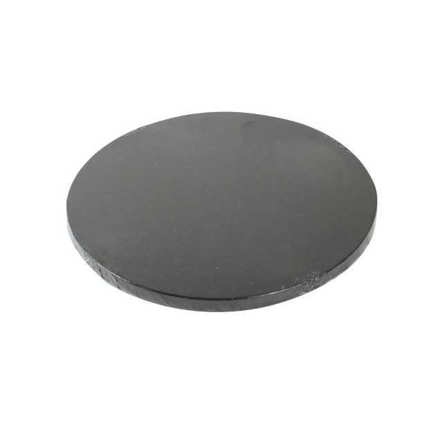 Présentoir à gateau rond noir 30 cm FunCakes